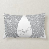 Angel Wings Throw Pillow | Zazzle