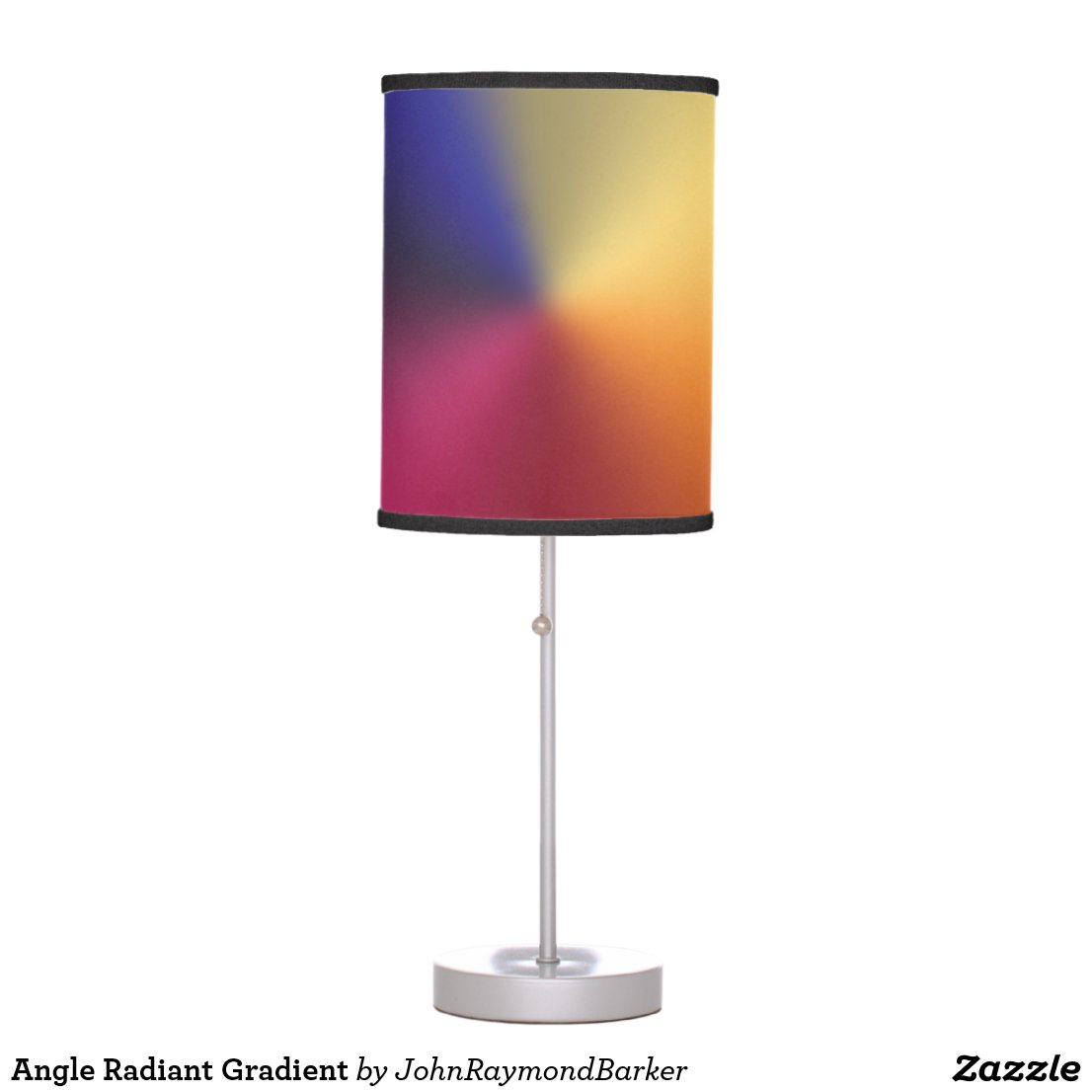 Angle Radiant Gradient Table Lamp