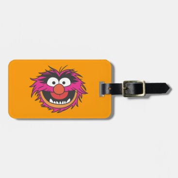 Animal Head Bag Tag