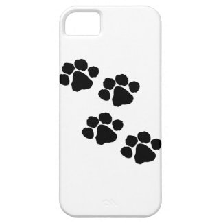 iPhone Cases with Pet Paw Prints For Cat and Dog Lovers