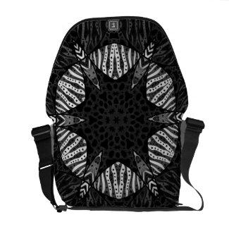 Animal Print Abstract Pattern Messenger Bag