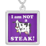Animal Rights Message Necklace