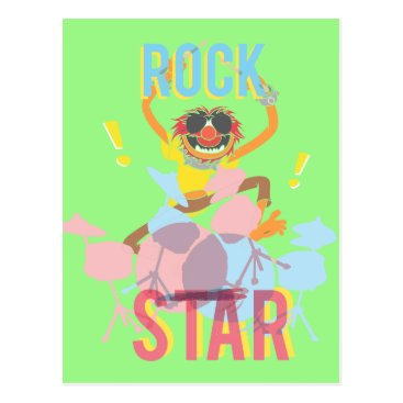 Animal - Rock Star Postcard