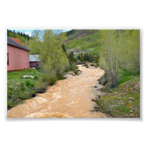 Animas River in Silverton, Colorado