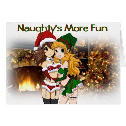 Anime Christmas Card Zazzle