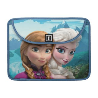 Anna and Elsa Sleeves For MacBooks