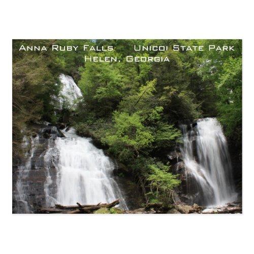 Anna Ruby Falls Postcard