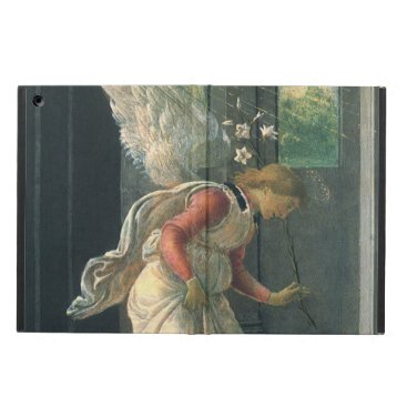 Annunciation (angel detail) by Sandro Botticelli Case For iPad Air