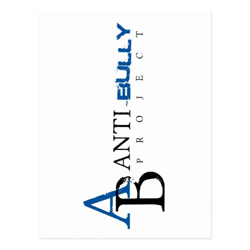 Anti Bullying Cards, Anti Bullying Card Templates, Postage