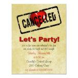 Anti-Valentine's Day Single's Party invitation