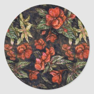 Antique Flowers by Alexandra Cook aka Linandara sticker