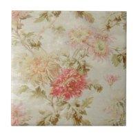 Floral Tiles & Floral Decorative Ceramic Tile Designs | Zazzle