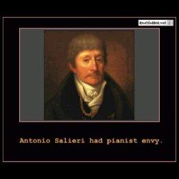 Antonio Salieri Had Pianst Envy