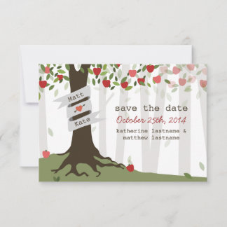 Save The Date (Also comes as a magnet & Postcard)