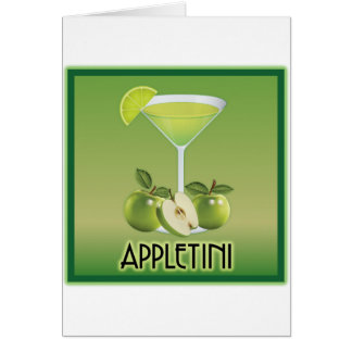 Appletini Green Cards