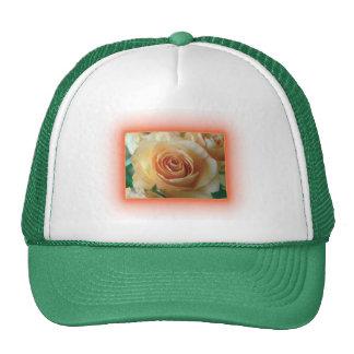 Apricot Rose Blur Trucker Hats
