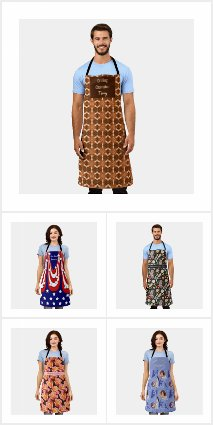 Kitchen Aprons Collection