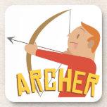 Archer Beverage Coaster