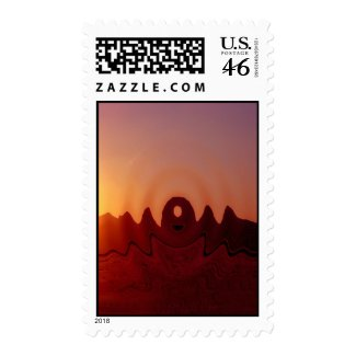 Arizona Formations stamp