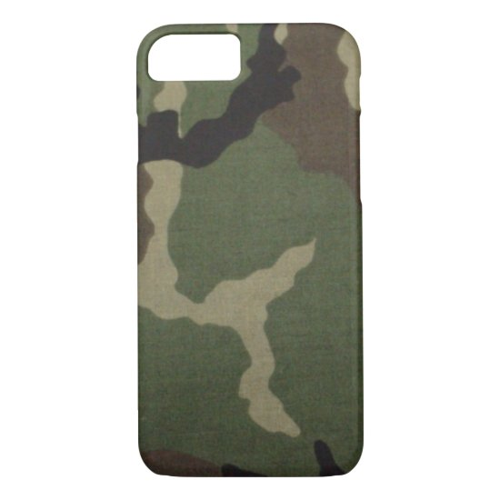 Army Camo iPhone 8/7 Case