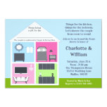 Around the House Shower Bridal Shower Invitation