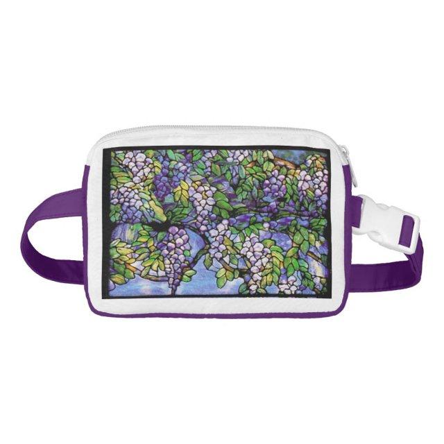 Art Nouveau Tiffany Flowers Floral Fanny Pack
