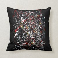 "Art Throw Pillow 16"" x 16"""