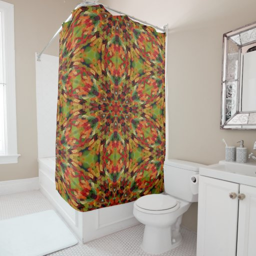 Astral Gummy Bears Shower Curtain