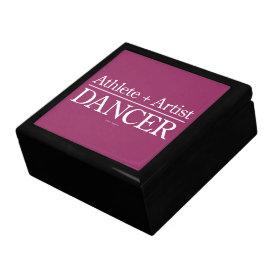 Athlete   Artist = Dancer Gift Box