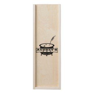 AUDREY'S Bar Wooden Keepsake Box