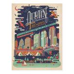 Austin, Texas - AKA: Bat City Postcard