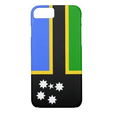 Australia South Sea Islander Flag iPhone 8/7 Case