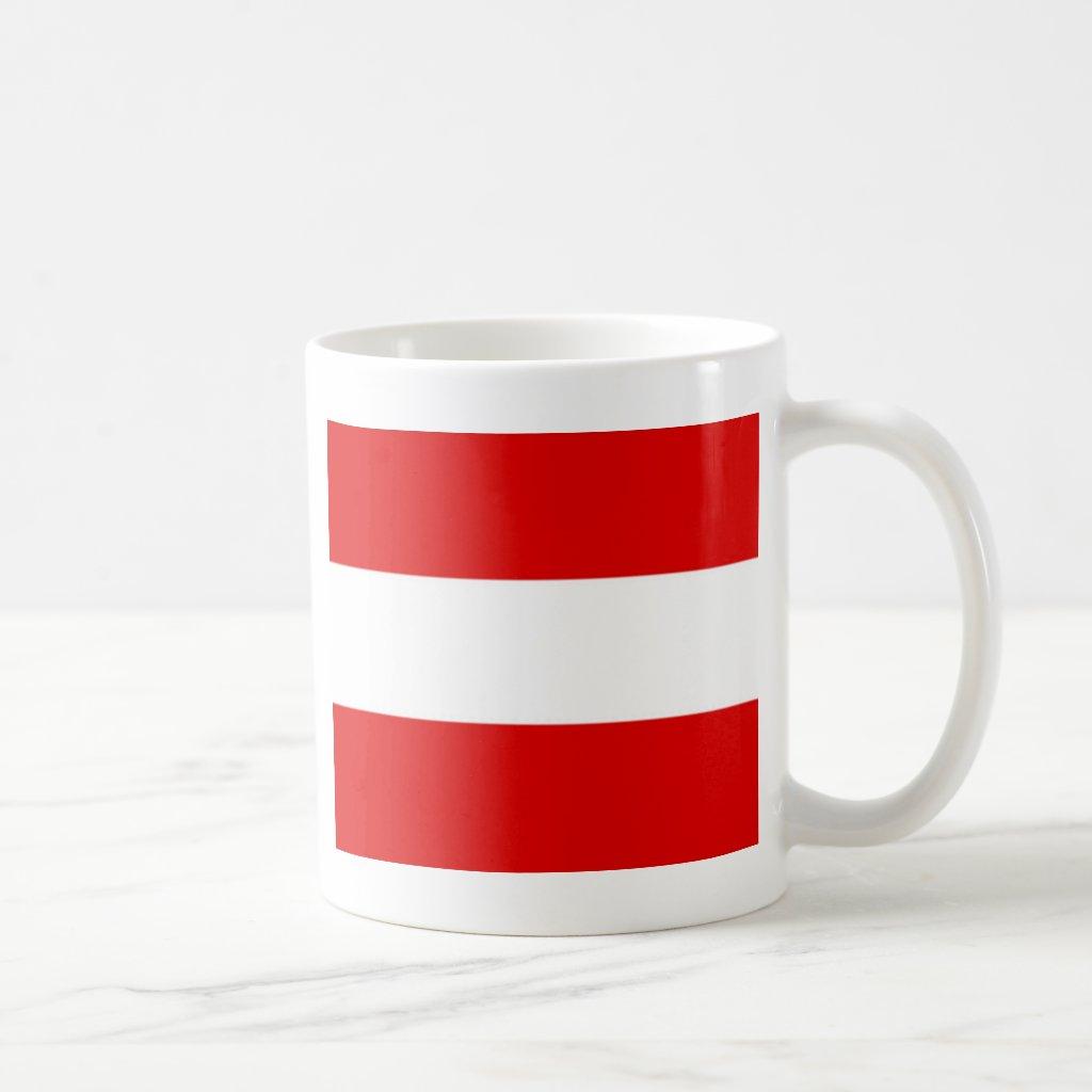 Austria Flag Coffee Mug