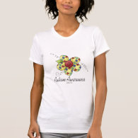 Autism Awareness Flower T Shirts