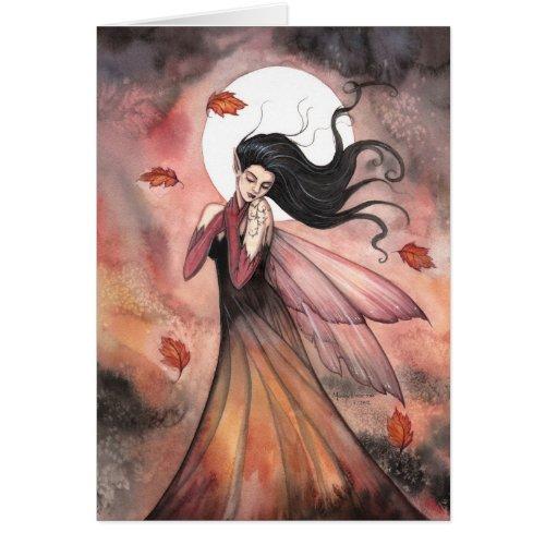 Autumn Dreams Gothic Fairy Fantasy Art