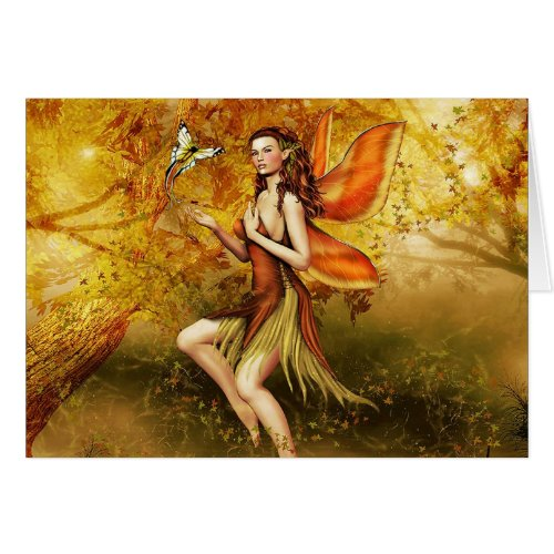 Autumn Fairy