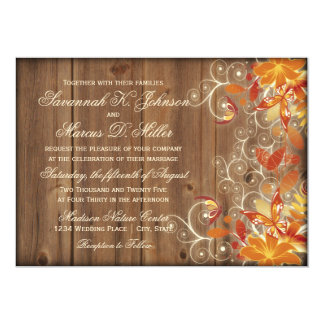 Fall Wedding Invitations Will Give You Ideas How To Make Adorable Invitation 13