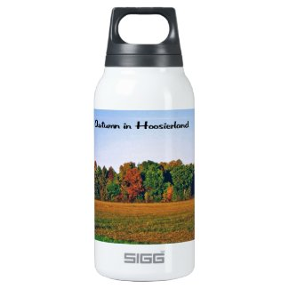 Autumn in Indiana 10 Oz Insulated SIGG Thermos Water Bottle