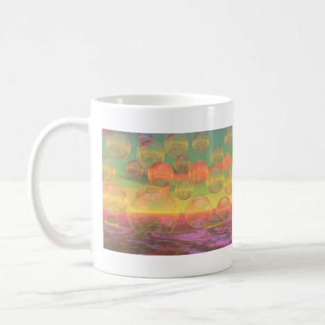 Autumn Ruminations – Gold & Rose Glory Coffee Mug