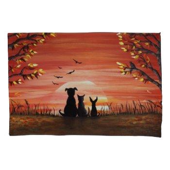 Autumn Sunset Pillowcase