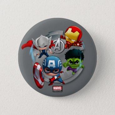Avengers Classics | Chibi Avengers Assembled Button