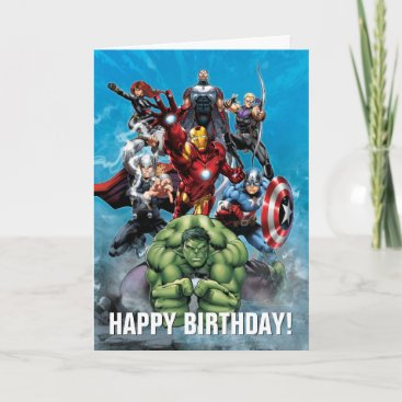 Avengers Classics   Hulk Leading Avengers Card