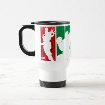 Avengers Classics | Paint Swatch Silhouettes Travel Mug