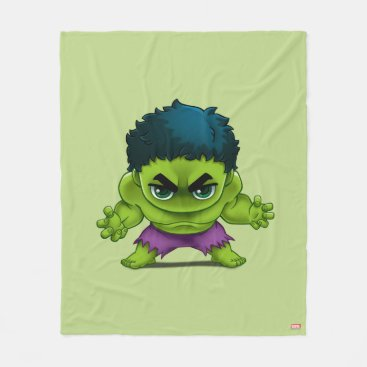 Avengers Classics | The Hulk Stylized Art Fleece Blanket