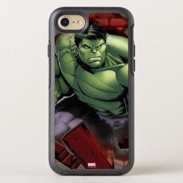 Avengers Hulk Smashing Through Bricks OtterBox Symmetry iPhone 8/7 Case