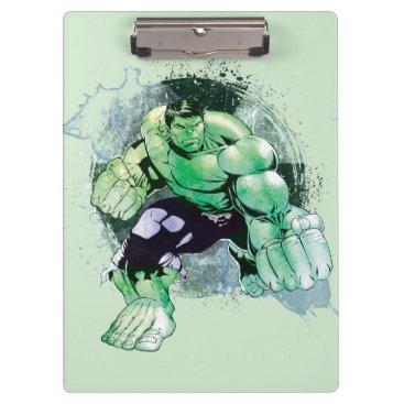 Avengers Hulk Watercolor Graphic Clipboard