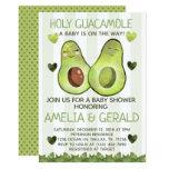 Avocado Baby Shower Invitation Invite