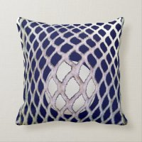 awesome lacrosse throw pillow