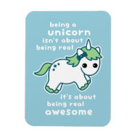 Awesome Unicorn Magnet