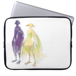 Awjakawa and Worzhaw laptop sleeve